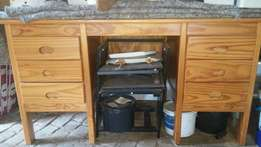 Wooden Study Desk/Table & Drawers