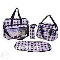 Baby Diaper Bag Set - Multicolour