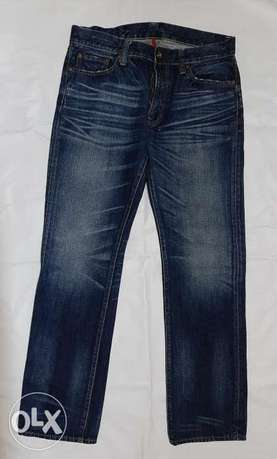 UNI QLO jeans straight leg size 34 from England.