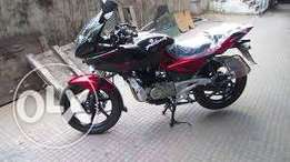 New bajaj power bike