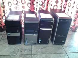 Duo Core & Quad Core Towers from R1000
