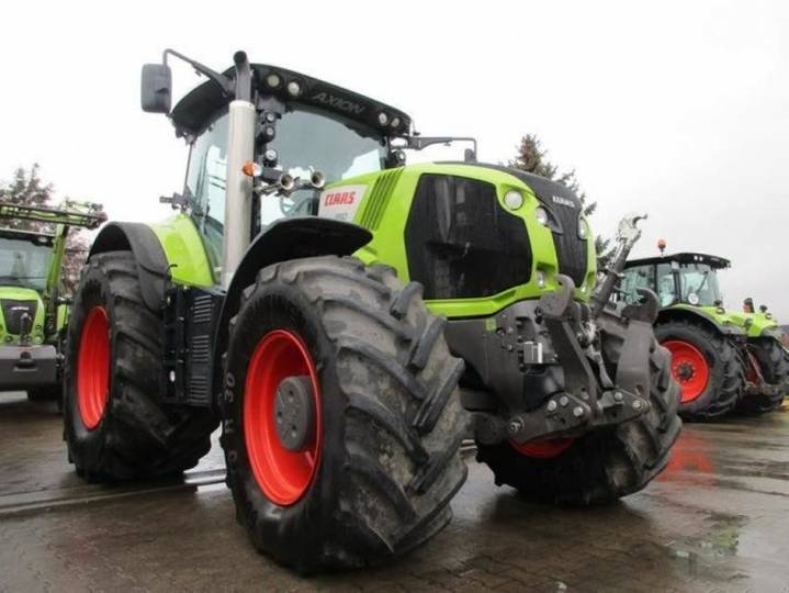 Claas axion 850 hexashilft - 2014