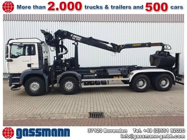 MAN TGA 41.400 8x4 BB mit Kran Jonsered 820 H - 2007
