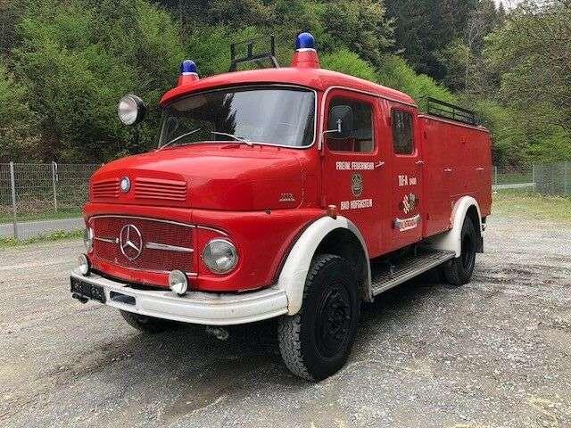 Mercedes-Benz 1113 Laf ** Tanklöschfahrzeug ** - 1965