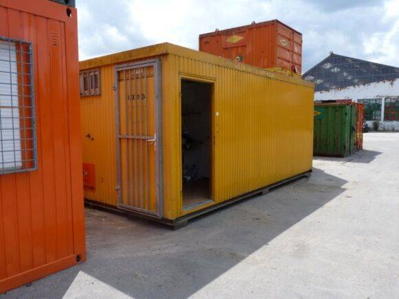 Sale canteen container office cabin container for  by auction