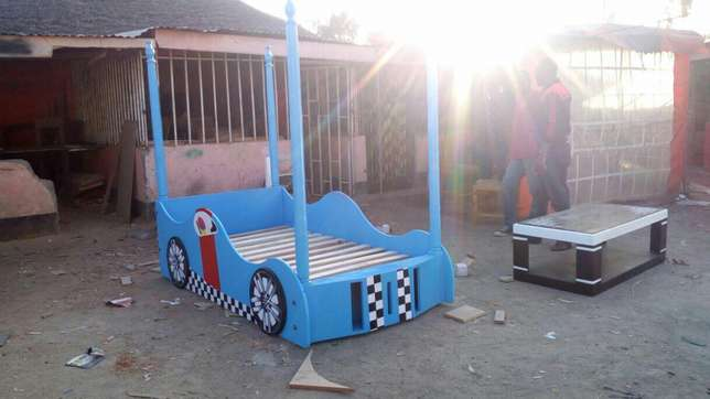 Kids bed colour of your choice Donholm - image 7