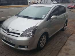 2007 toyota verso 1.6 tx silver*cash only*