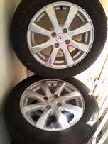 POLO VIVO MAGS AND TYRES, 185/60 14RIM with 2set