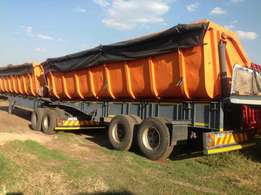34cube side tipper SA body trailer up for grabs !