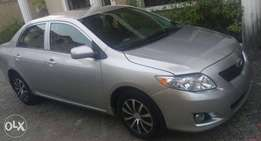 Super clean Tokunbo 2009 Toyota Corolla