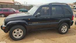 Clean Jeep Liberty (Abuja)