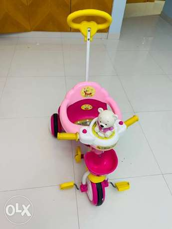 kids tricycle - pink
