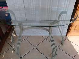Glass Entrance Table FOR SALE
