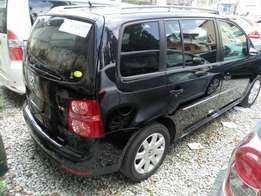 Volkswagen Touran black