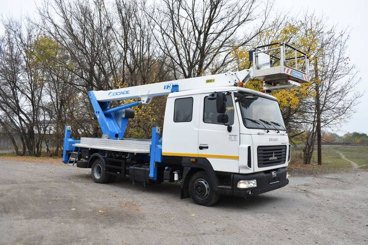 Socage New  T322 na shassi MAZ-4371N2 bucket truck - 2019