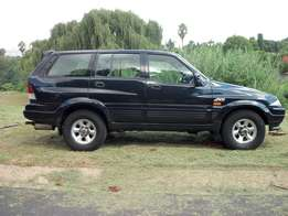 1999 Ssangyong Musso 230el 4X4 manual