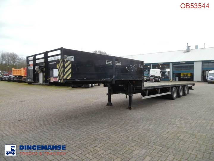 SDC 3-axle semi-lowbed container trailer - 2004