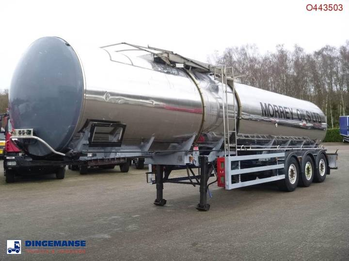 GENERAL TRAILER Heavy oil tank inox 28.2 m3 / 1 comp - 2000