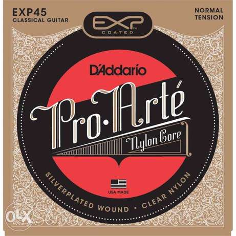 D'Addario EXP Coated