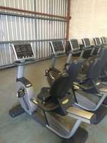 TECHNO-GYM Commercial Recumbent Bikes For Sale