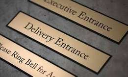 700ksh for engraving door signs plus free delivery