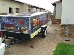 Mobile Car wash Trailer & Kia K2700