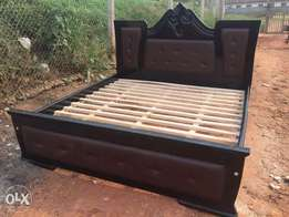 king size butterfly leather bed