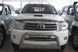 2010 Toyota Fortuner 3.0D 4D 4x4 for sale
