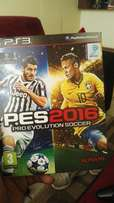 Ps3 with brand new pes
