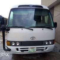 First body fearly used toyota coaster buss buy and drive