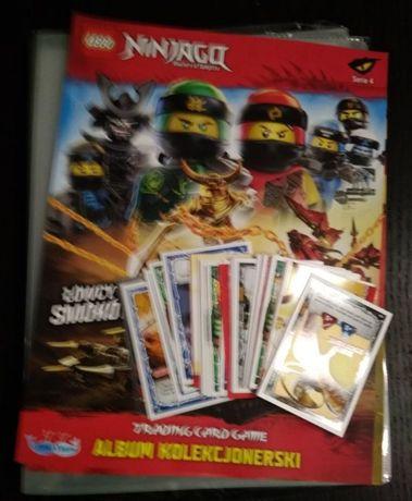 Album Na Karty Lego Ninjago Seria 4 łowcy Smoków 50 Szt Kart