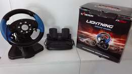 Steering Wheel and Peddles (PS2)