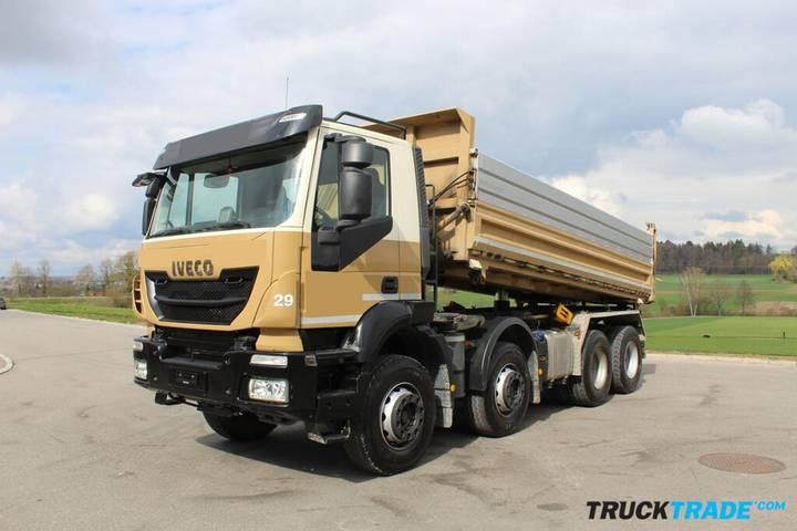 Iveco 340T41 Trakker 8x4 3-Seitenkipper - 2015
