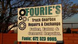 Truck Gearboxes and Diffs - Service/Exchange