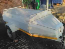 venter trailer 6ft very good condition