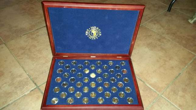 25kt gold coin collection of u.s Pretoria North - image 4