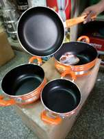 4pc nonstick cooking ware