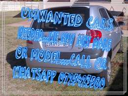 vehicles wanted by us