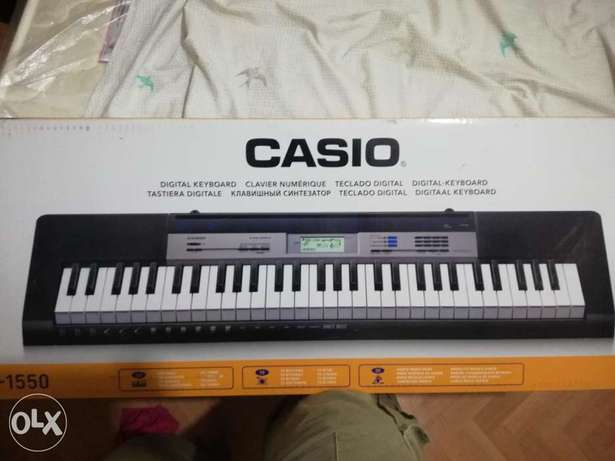 Casio keyboard available for sale CTK1550
