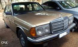 1984 Mercedes Benz W123 230E Manual