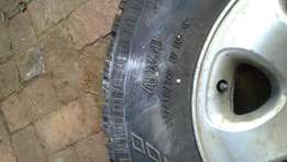 Mags and tyre isuzu baķkie
