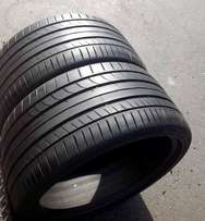 2 x 285/30/19 90% tyres for sale