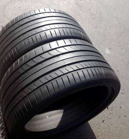 2 x 285/30/19 90% tyres for sale Johannesburg - image 1
