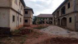 4 blocks of 6 flats for sale on a 150x200