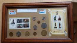 South African Artist stamp sets and Decimal coins 1960's to 1980's