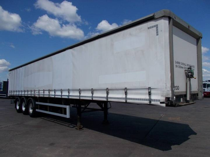 SDC 45FT CURTAINSIDE TRAILER - 2008 - C257127 - 2008