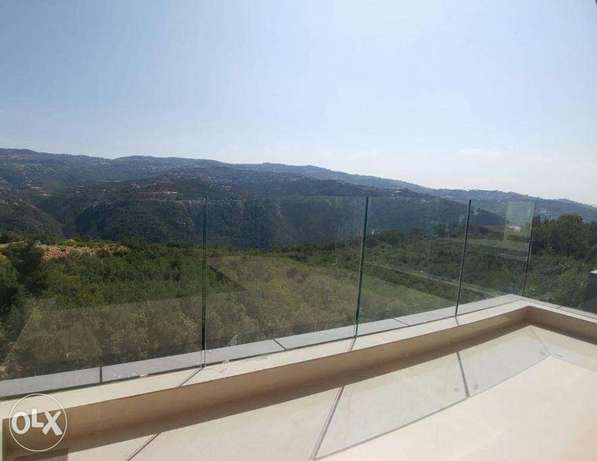 Ballouneh 240m2 duplex - new - panoramic view - private street -