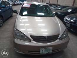 Neatly Used Toyota Camry LE 2002 Model