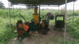Working palm oil mill for sale at DSC,warri
