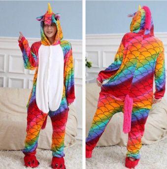 пижама кигуруми огненный единорог разноцветный морской 165-170 рост Киев -  изображение 1 11f7497678eb1